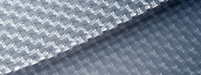 Polyester Mesh 1 Micron - Open Area %: 2 - Width: 45 in